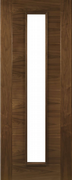 Deanta Pre-Finished Walnut Seville Unglazed Door
